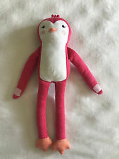 "Pillowfort Penguin Pink 18"" Target Plush Stuffed Animal Pillow Buddy Long Arms"