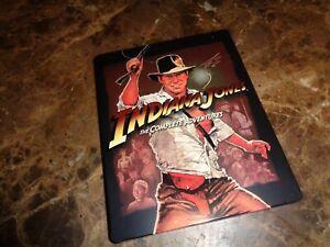 Indiana Jones The Complete Adventures Collection (Steelbook Blu-ray Set, 5-Disc)