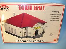 M60 MISB HO Scale MODEL KIT Model Power No.400 TOWN HALL w/Windows or Cargo Door