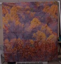 Fall Foliage Pattern Shower Curtain