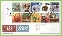 G.B. 2017 Classic Toys set on Royal Mail First Day Cover, Edenbridge