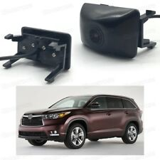 Car Grill Embedded Full HD CCD Front View Camera for Toyota Highlander 2014-2016