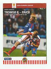 Orig.PRG   Europa League  2011/12   TROMSÖ IL - FC PAKSI  !!  SELTEN