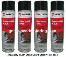 Wurth Stone Guard Spray Aerosol Black - 4 Pack 8890971