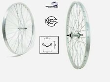 """Coppia Ruote / Cerchio Ant. + Post. Bici 28"""" citybike 700 x35  6/7 Velocita'"""
