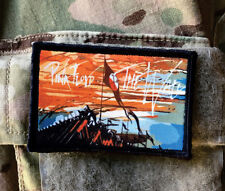 Pink Floyd The Wall Morale Patch Tactical Military USA Hook Badge Army Flag