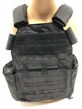 London Bridge Trading LBT-6094B Plate Carrier Black ATF LE Duty Police Large