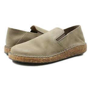 Birkenstock Womens Callan Suede Narrow Shoes Gray Taupe 36/Narrow (C, B) New