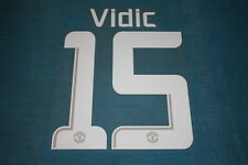 Manchester United UEFA Champions League 2013 - 2014 #15 Vidic HomeKit/ Awaykit