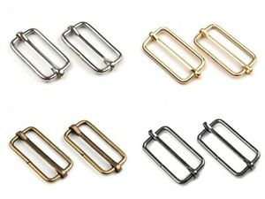 5/10 Gurtverschieber - Schnallen - für 30mm Gurtband - versch. Farben