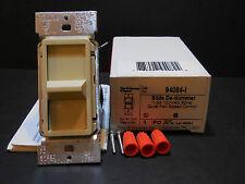 P&S Pass & Semour 94084-I 120 V Quiet Single-Pole Slide Fan Speed Control Ivory