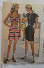 Vtg McCALL Sewing Printed PATTERN #6448 Misses' 3-Piece Sports Ensemble, Size 12