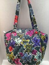 Vera Bradley GLENNA  Purse Shoulder Bag Satchel Tote FALLING FLOWERS 🌺  NWT