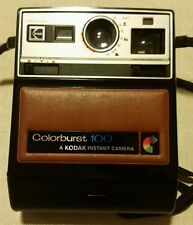 Vintage Kodak Colorburst 100 Instant Camera with Carrying Strap, Untested