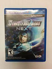 Sony PS Vita Dynasty Warriors Next From Koei Game