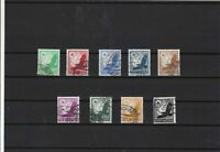 Germany 1934 used air stamps Ref 15905