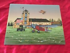 C Carson Air Terminal U.S Mail American Flag Print /Oil Painting?
