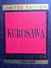 Limited Edition Kurosawa Dvd Collection (Ran/Madadayo) *near Mint* 0513/5000
