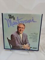 Reel to Reel Tape - 7 1/2 IPS - The World of Mantovani - 4 Track