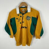 Wallabies Australian Rugby Jersey Boys Size 8 Long Sleeve