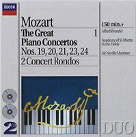 Alfred Brendel - Mozart: The Great Piano Concertos 19-24, 2 Concert Rondos [CD]