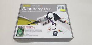 Brand New Raspberry Pi 3 Model B plus Physical Computing Kit 1.4GHz 64 bit