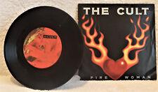 "CULT FIRE WOMAN Ian Astbury Alternative Pic Sleeve 7"" VINYL SINGLE BEG 228 EX/EX"