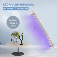 LED UV Lamp Germicidal Sterilizer Eliminator  Tube Quartz Ultraviolet Light UK