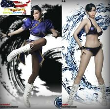 SUPERDUCK 1/6 Chun-Li FULL figure Street Fighter SET014 Phicen Body❶US IN STOCK❶