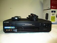 SONY VCR Tape PLAYER/ RECORDER SLV-N51 VHS w/ REMOTE