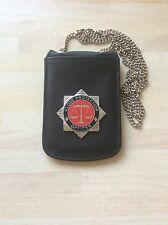 Close Protection Officer Neck Chain Multiple ID Card Holder