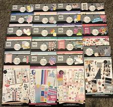 Brand New Mambi Happy Planner Sticker Book Lot Of 19