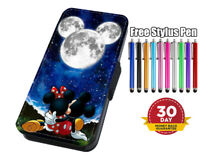 Disney Mickey Mouse Sky Flip Phone Case Cover for iPhone Samsung And Huawei