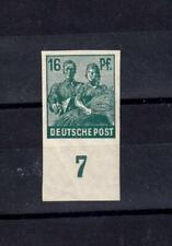 Germany: Allied Occupation: Mi. 949U**  16pf  imperf. variety, MLH
