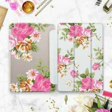 Flowers Gift iPad Air 2 3 2019 Smart Cover Roses iPad 6 Pro 9.7 12.9 2018 Case
