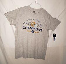 Winnipeg Blue Bombers 107 Grey Cup Champs T-shirt size Large