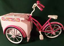 "Paradise Kids 18"" Doll Pink Ice Cream Bicycle-fits American Girl Our Generation"