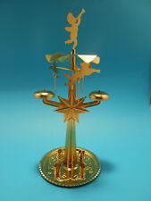 Lichter Glockenspiel Klingelpyramide aus Metall Knox Pyramide gold neu