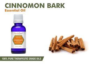 Cinnamon Bark Essential Oil Pure & Natural Aromatherapy Oils Therapeutic Grade