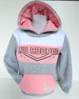 Lee Cooper Kinder Mädchen Pulli Sweatshirt mit Kapuze Gr.110/116 Hoodie