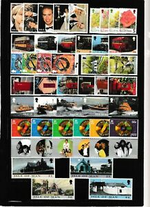 s34865 ISLE OF MAN MNH 1999  Complete year set  - Annata Completa        3 scans