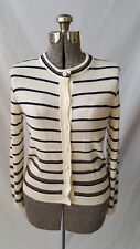 Vintage Givenchy Sport Winter White/Blue Cardigan Sweater Us Women's Size Small