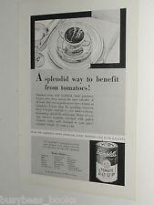 1931 Campbells Soup ad, Tomato Soup