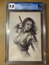 RED SONJA AGE OF CHAOS #4 SHANNON MAER VIRGIN VARIANT COVER 9.8 CGC DYNAMITE ENT