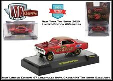 M2 Machines 1:64th Diecast Car '67 Chevy Nova Gasser 2020 NY Toy Show Exclusive