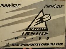 1997-98 Pinnacle Inside Hockey Case 23 Cans
