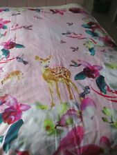TED BAKER FABRIC QUILTED THROW/BEDSPREAD
