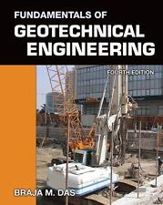 Fundamentals Of Geotechnical Engineering 4/E Int'L Edition