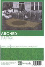DIY Landscape Plans Arched Patio Brick Paver Layout Landworks Design Group