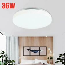 Round Led Surface Mount Fixture Ceiling Light Kitchen Bedroom Panel Lights Lamp